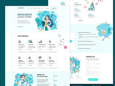 Landing Page ux ui design