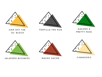 Nacho Branding minimal branding icon logo
