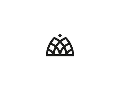 Intricate M logo design flower feminine jewelry logo intricate letter m insignia branding geometry minimal mark line geometric symbol icon logo