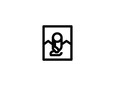 Mona Lisa picture painting minimal design leonardo art mark symbol icon logo davinci monalisa