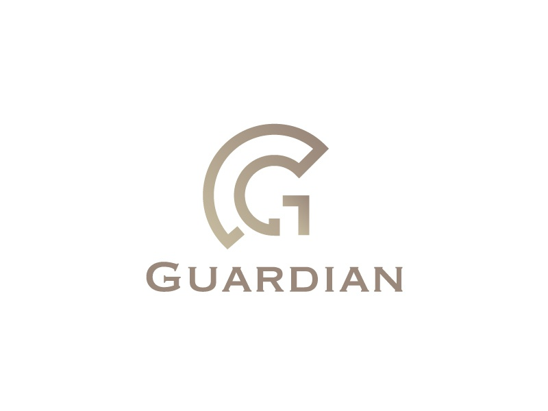 Guardian + G branding smart logo warrior guardian letter g geometry minimal geometric line icon mark symbol logo