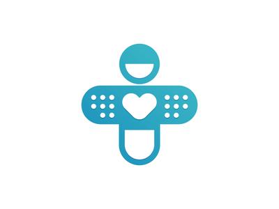 Doctor Pill - Cross Medical Logo