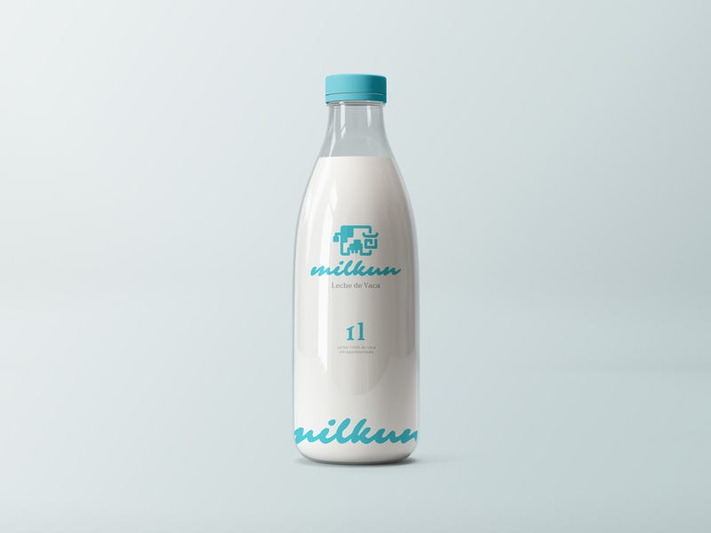 Cow logo and packaging design