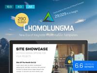 Cover for Chomolungma Presentation Template