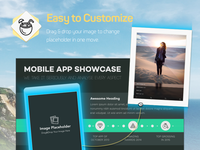 Chomolungma Presentation Template / Drag & Drop Promo