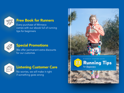 Book Cover Design and Promo for Winneco cover sport book cover promo running gear run sporting gear book