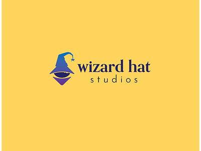 Wizard Hat Studios Logo graphic design logo
