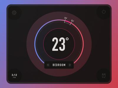 020 Thermostat Widget