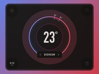 020 Thermostat Widget