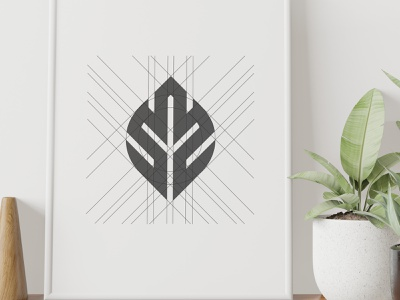 Leaf Creative is a place with a real sense of its own personalit love brand brand design clean minimal leaf icon graphic design creative design branding logo