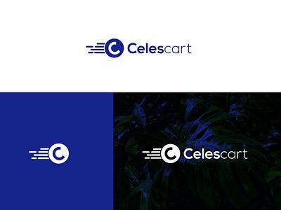 Celescart simple bold modern logo modern icon creative design brand brand design illustration leaf minimal graphic design clean logo