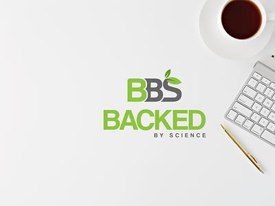 BACKED BY SCIENCE LOGO DESIGN fresh bold illustration design creative design brand design minimal graphic design clean logo