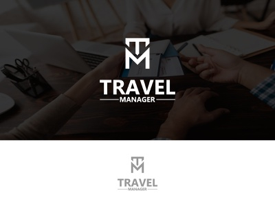 Travel Manager businesses and travel directs manager travel illustration ui bold design creative design brand design minimal graphic design clean logo
