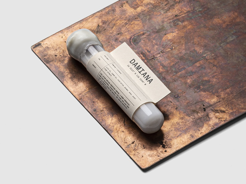 Conserva Collective Damiana Soap Sample Packaging