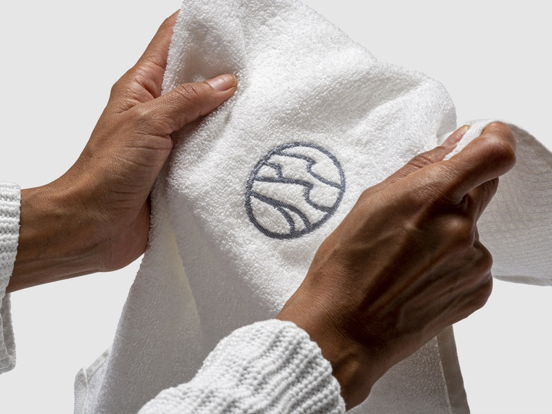 Conserva Collective Towel Logo Embroidery
