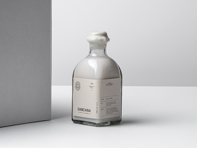 Conserva Collective Damiana Liquid Soap Packaging