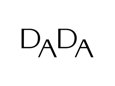 Logotype for Dada Interiors, a Budapest-based interior architect custom type custom lettering letters elegant mongram vector hungary branding logo