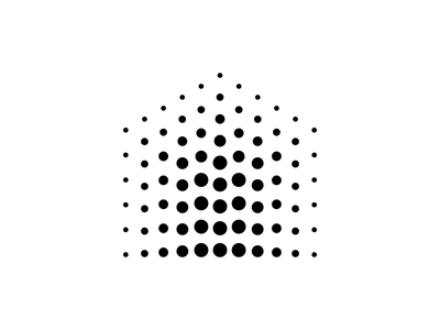 House symbol for a private event venue circle houses event hungary identity people dots house logo house symbol logo