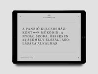 Pávatollas Website