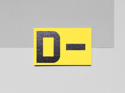 D-tector business card hungary black minimal yellow industrial security metal detector