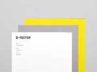 D-tector letterhead