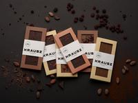 Krausz Handmade Chocolate Packaging