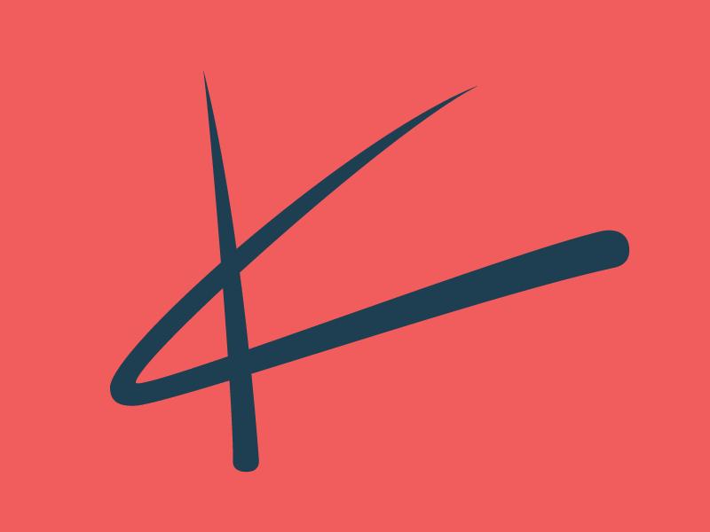 Personal Logo logo k