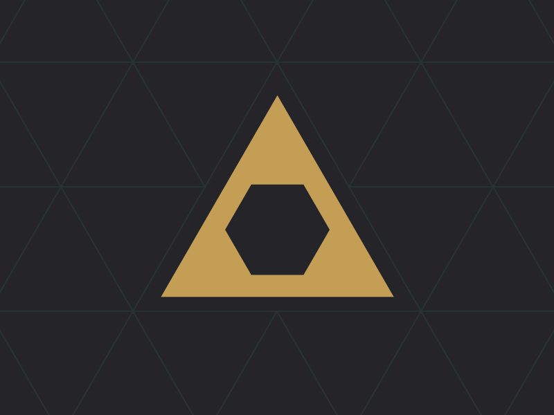 Logo on pattern