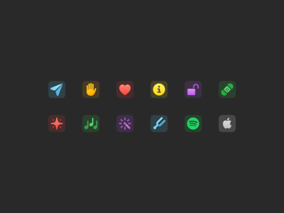 Klank icons and update iphone ui music music app spotify icons app ios