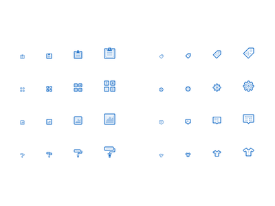 Icons. icons set icon 16px 24px 12px 32px