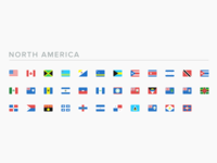 SEOshop Flags: North America