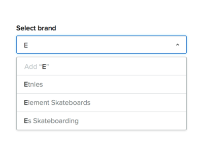 Select brand...