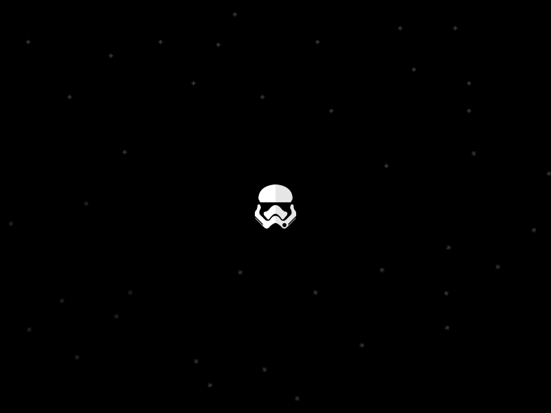 Star Wars The Force Awakens: Stormtrooper Glyph star wars 7 episode fanboy icon glyph awakens force stormtrooper wars star