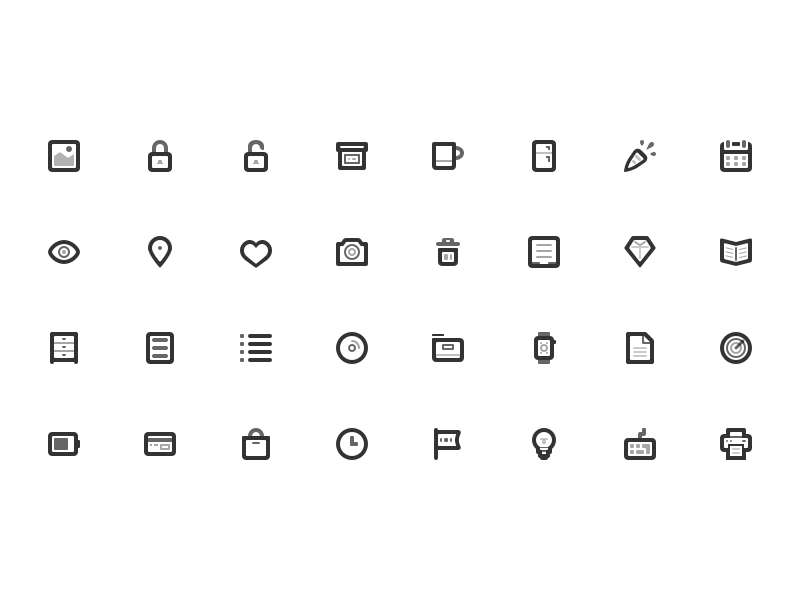 Oakcons 2 update is coming! printer svg update new subscription icons set icon