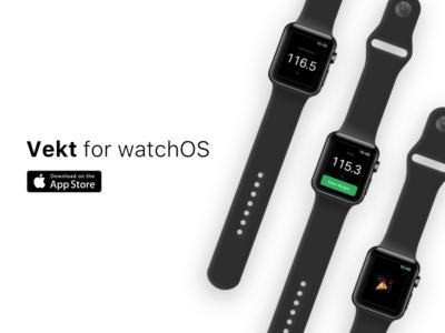 Vekt for watchOS is here!