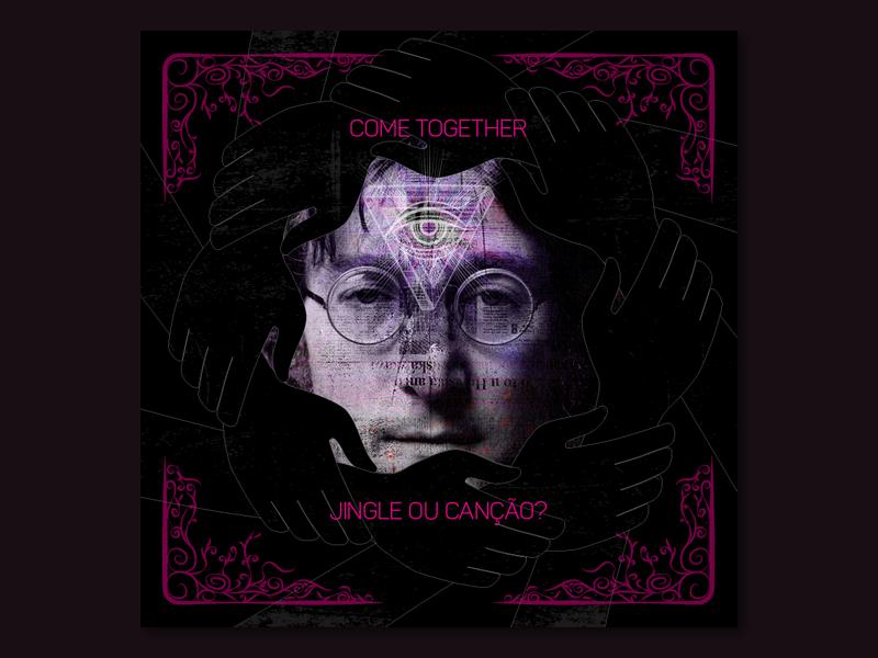 Come Together psychedelic come together john lennon the beatles post facebook digital