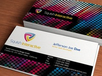 Colorful Business Card -PSD