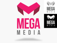 Mega Media Logo Template -Psd