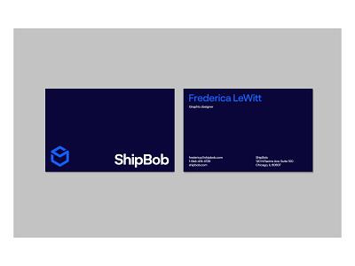 ShipBob - Branding ecommerce shipping guide manual colors graphic visual identity brand identity design logo logotype brand branding