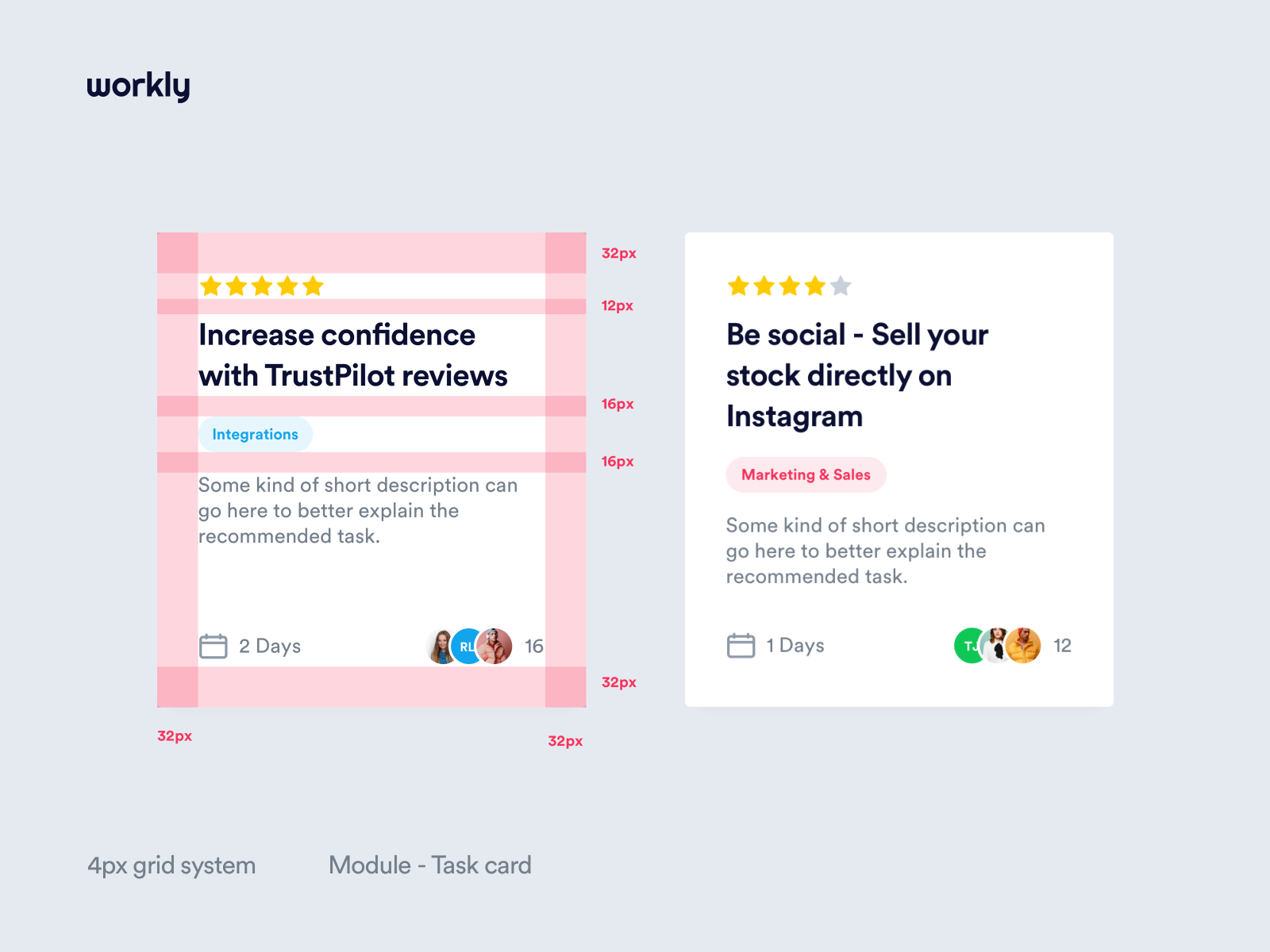 Workly Grid System By Filip Justic For Balkan Brothers On Dribbble