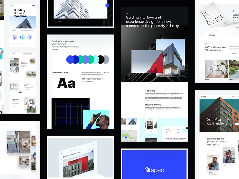 Spec - Behance Case Study 3 web design product design icons user experience user interface behance case study property real estate technology mobile app design website web ux ui agency branding