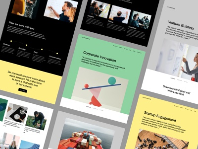 Rainmaking - Services design system user experience user interface ux design ui design ux ui colors typography website mobile illustration branding web design product design