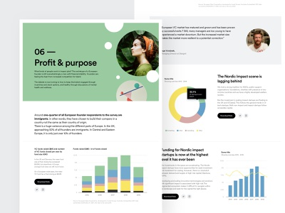 PlusImpact - Report Exploration colors typography ui design ux design user experience website web design user interface analytics reports charts dashboard product design web design ui ux