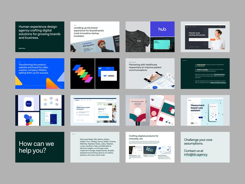 BB - Company Deck pdf mockup ui ux design colors typography logo pitch deck brand visual identity branding company deck product design web design