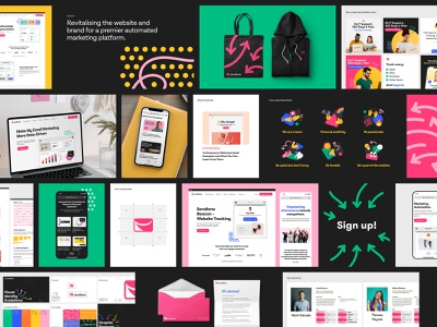 Sendlane - Case Study 1 case study web design product design branding visual identity logo typography ux ui user experience discovery research brand strategy b2b website saas bbagency email marketing user interface homepage