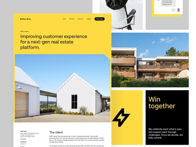IMMO Capital - BB Agency Case Study case study bbagency visual identitiy customer experience real estate dashboard platform graphic design colors typography branding wordpress cms product design web design ux design user experience ux ui discovery