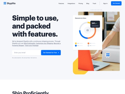 Shyplite - Feature Visuals design bb agency design agency shipping transportation b2b saas user experience user interface ux ui product design web design website logo brand branding visual identitiy features modules