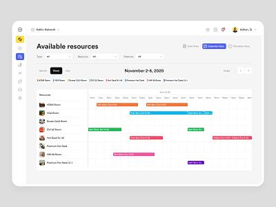 Nexudus - Calendar typography colors bbagency interface design modules components application web app website product design design system dashboard development user experience user interface ux ui date picker calendar