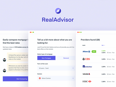 Real Advisor - Forms 2.0