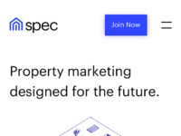 Spec   homepage   mobile 2x